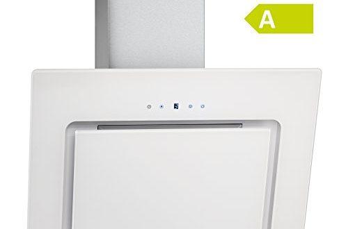 41fiZ+G+ RL 500x330 - Bomann DU 771 G Kopffreie Vertikal-Dunstabzugshaube/ A / 60 cm / weiß / LED-Display