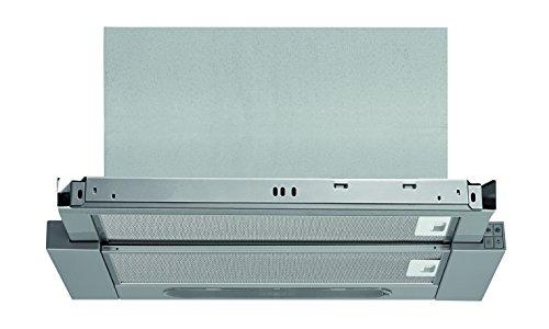 Bauknecht DBAH 64 AM X Dunstabzugshauben/Flachschirmhaube/ 60 cm /Mechanische Steuerung / silbergrau / Abluft- und Umluftbetrieb geeignet