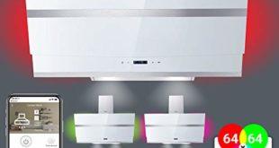 kopffreie dunstabzugshaube wandhaube 80cm edelstahl weisses glas wifi extra leise 605m³ h 4 stufen rgbw led beleuchtung touchselect sensortasten hermes807wm kkt kolbe 310x165 - Kopffreie Dunstabzugshaube, Wandhaube (80cm, Edelstahl, weißes Glas, WIFI, Extra-leise, 605m³/h, 4 Stufen, RGBW-LED-Beleuchtung, TouchSelect Sensortasten) HERMES807WM - KKT KOLBE